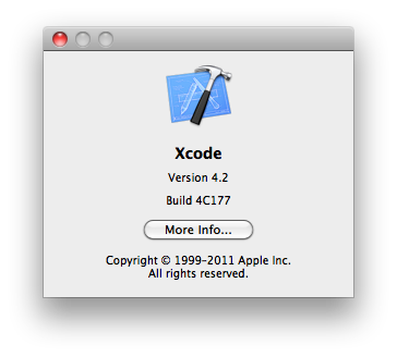 Xcode Current Install Build